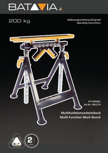 Bedienungsanleitung - Batavia GmbH