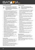 Bedienungsanleitung - Batavia GmbH - Page 4