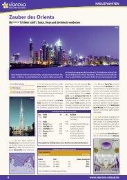 +TUI Mein Schiff 2 Dubai, Oman und die Emirate entdecken