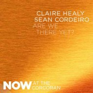 Are We There Yet? Exhibition Brochure - Corcoran Gallery of Art