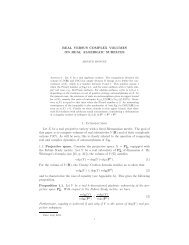 REAL VERSUS COMPLEX VOLUMES ON REAL ALGEBRAIC ...