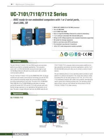 UC-7101/7110/7112 Series