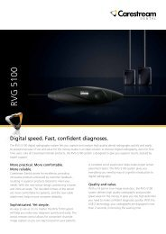 RVG 5100 - Carestream Dental