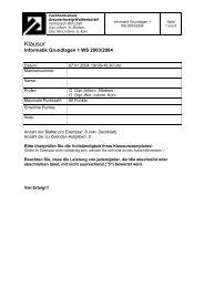 Semesterklausur WS 03/04 - Public.fh-wolfenbuettel.de