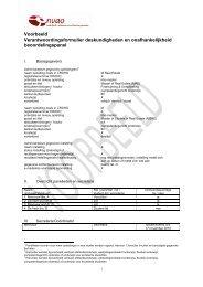 Voorbeeld Verantwoordingsformulier deskundigheden en ... - NVAO