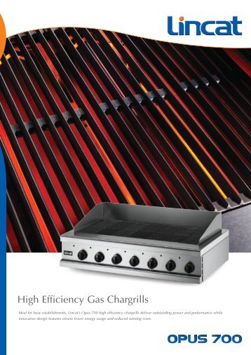 Download Opus Gas Chargrill Brochure