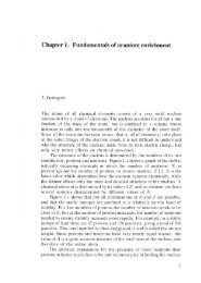 Chapter 1. Fundamentals of uranium enrichment
