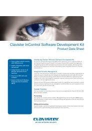 Clavister InControl SDK