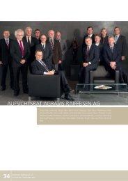 Bericht des Aufsichtsrates - AGRAVIS Technik Saltenbrock GmbH