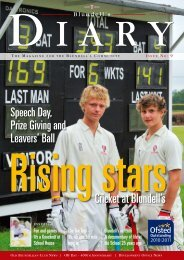 Issue 9 Autumn 2011 (6.2 MB) - Blundell's School