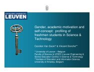 Gender, academic motivation and self-concept ... - genderandSTEM