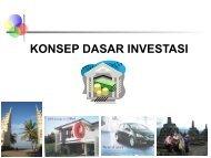 Chapter 11: Konsep Dasar Investasi