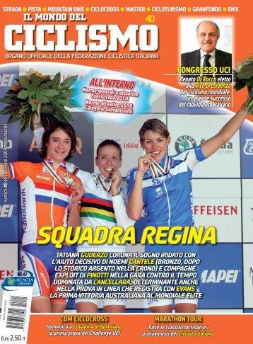 SQUADRAREGINA - Federazione Ciclistica Italiana