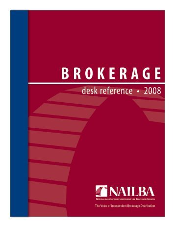 BROKERAGE - Nailba