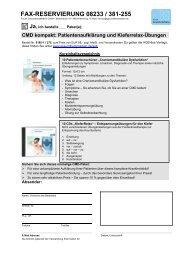 Fax-Bestellformular - Forum Gesundheitsmedien