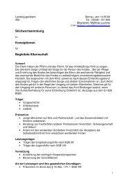 Konzeption - Begleitete Elternschaft - Stichworte - 16.10.-205