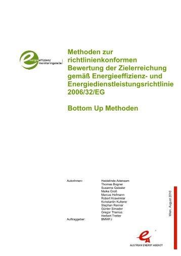 Methoden zur richtlinienkonformen Bewertung der ... - Monitoringstelle