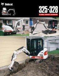 325 328 Excavator Spec Sheet b-1730 Ver 11/00 ... - RenTrain