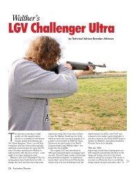 LGV Challenger Ultra Australian Shooter September ... - Frontier Arms