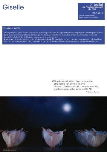 Giselle - Opéra national du Rhin