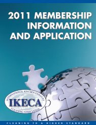 2011 MEMBERSHIP INFORMATION AND APPLICATION ... - IKECA
