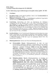1 PD Dr. Richter Vorlesung ... - Dr. Klaus Richter