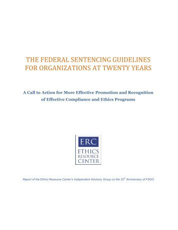 a study on federal sentencing guidelines There is an extensive history of sentencing disparity studies  14 chantale  lacasse & a abigail payne, federal sentencing guidelines and mandatory.