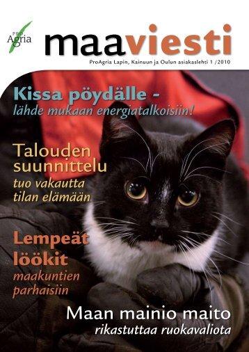 1/2010 - ProAgria Oulu