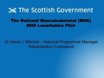 NHS Lanarkshire - Quality Improvement Hub