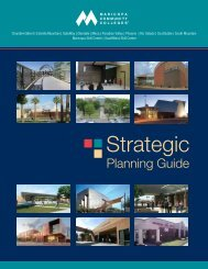 Strategic Planning Guide 2012 - Maricopa Community Colleges