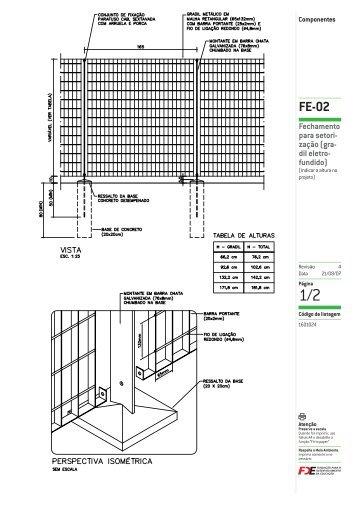 FE-02 - Catálogos Técnicos