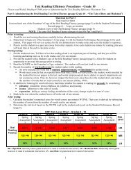 Grade 10 - Division of Language Arts/Reading
