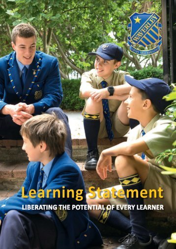 Learning Statement - Waverley College