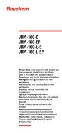 JBM-100-E JBM-100-EP JBM-100-LE JBM-100-L-EP