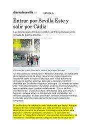 Entrar por Sevilla Este y salir por Cádiz - Arau Acústica