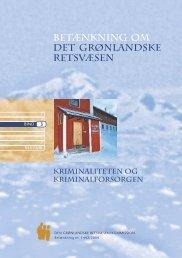 Betænkning 1442 om det grønlandske retsvæsen, bind 3 - Krim