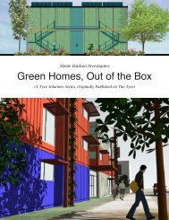 Green Homes, Out of the Box - The Tyee