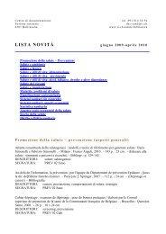 aprile 2010 - Repubblica e Cantone Ticino