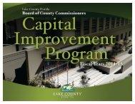 Capital Improvement Program Fiscal Year 2011-2015 - Lake County