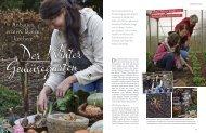 Der Wintergemüsegarten – LandFrisch Ausgabe Januar/Februar 2014