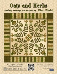Oats and Herbs Quilt - Henry Glass & Co