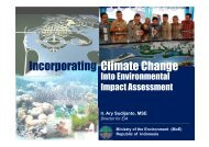Incorporating Climate Change Into Environmental Impact ... - AECEN