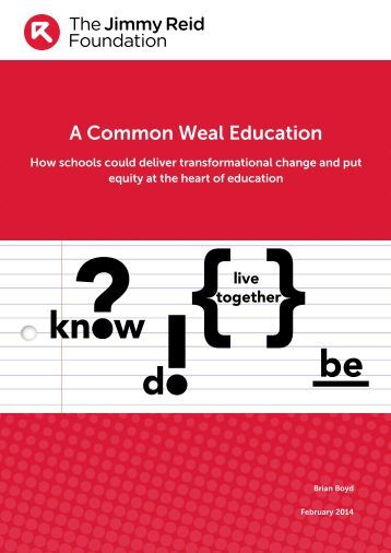A-Common-Weal-Education