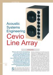 Acoustic Systems Engineering