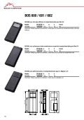 Série de boîtiers de commande mobile riche en variantes au ... - Bopla - Page 7
