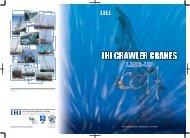 IHI Crawler Crane Line-Up - AGD Equipment