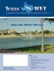 November 2005 - Water Environment Association of Texas