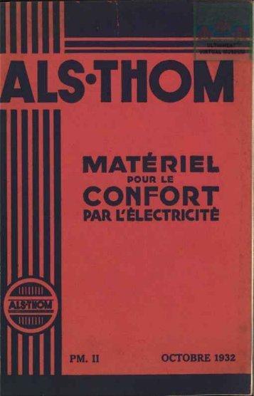 ALS.THOM matériel pour le confort par l'életricité - Ultimheat