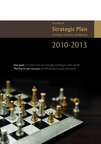 Strategic Plan - Emirates Identity Authority