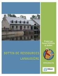 Lanaudière - Portail VIH / sida du Québec